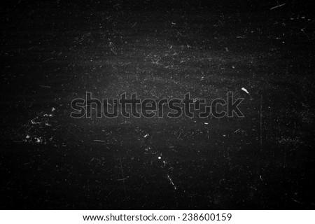 Old Black Dusty Scratchy Background - stock photo