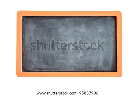 old blackboard - stock photo