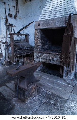 Old Blacksmiths workshop.