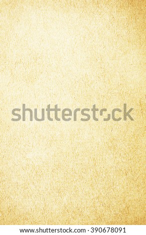 old blank page from ancient book - stock photo