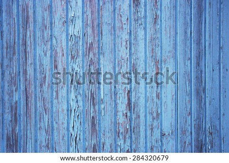old blue battens