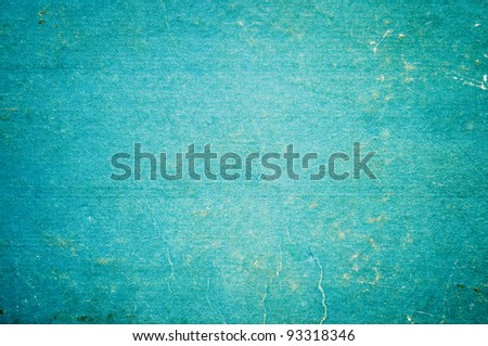 Old blue paper texture for background - stock photo