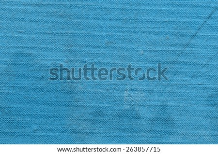 Old Book Cover. Blue Paper Texture. Background - stock photo