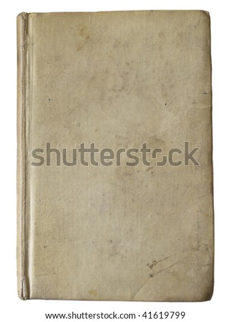 old book vintage - stock photo