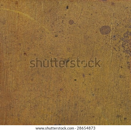 old brass texture - stock photo