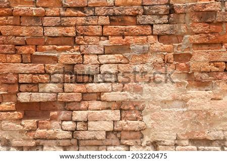 Old Brick background - stock photo