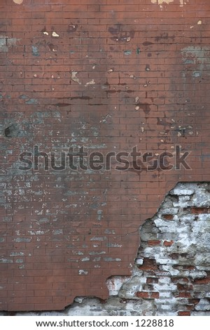old brick wall - perfect grunge background