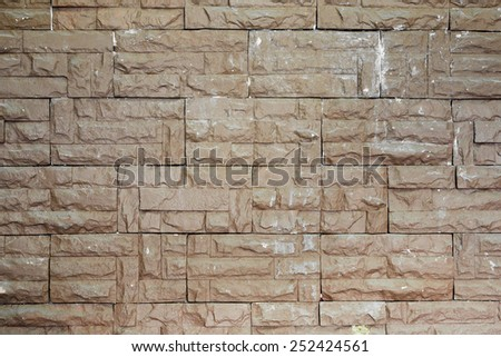 Old brick wall texture background - stock photo