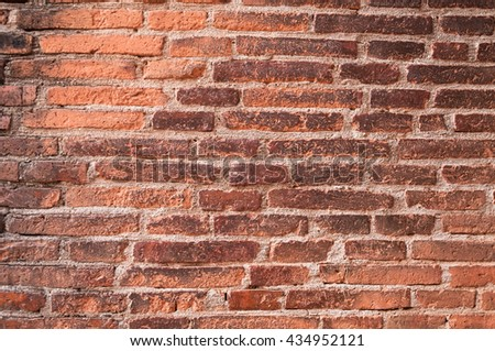old brick wall texture for background - stock photo