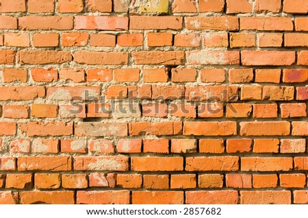 Old bricks wall (can be used how texture, wallpaper or background)