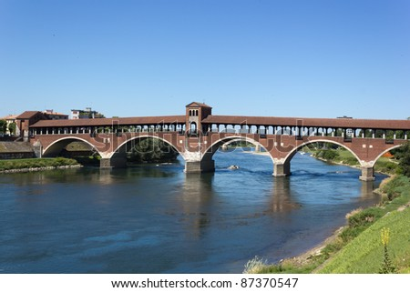 Old bridge of Pavia