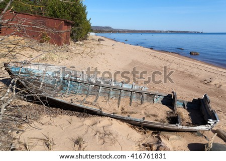 West Africa Gambia Old Portuguese Cannon Stock Photo