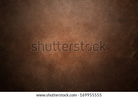 Old brown leather background - stock photo