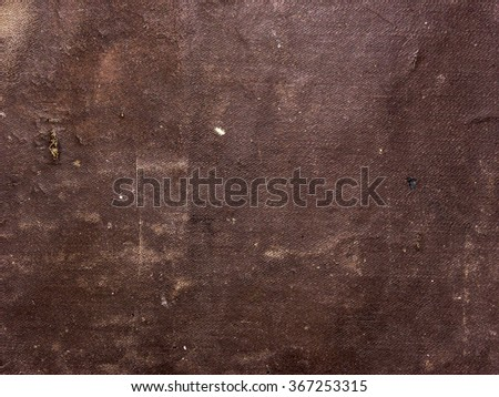 old brown leather texture - stock photo