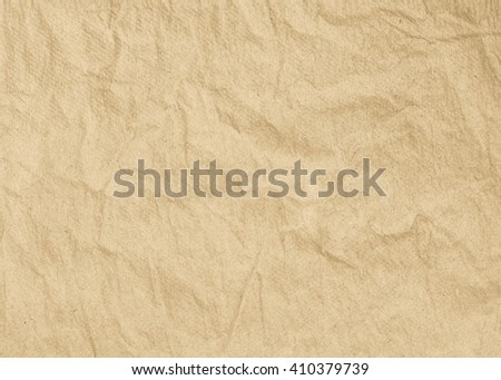 Old Brown Paper texture for background. - stock photo