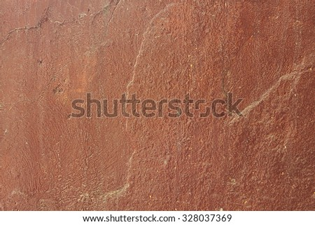 Old brown wall background close up - stock photo