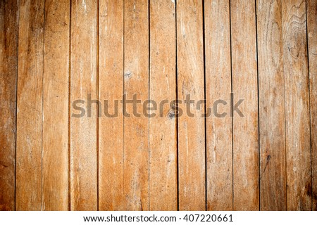 Old brown Wood Background. Vintage natural texture - stock photo