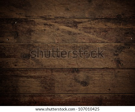 old brown Wood Floor texture - stock photo
