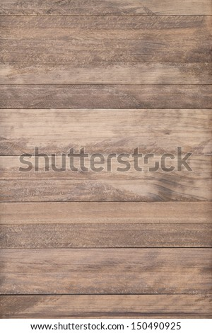 Old brown Wood plank wall texture background vintage - stock photo