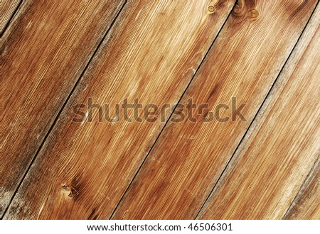 old brown wood texture - stock photo