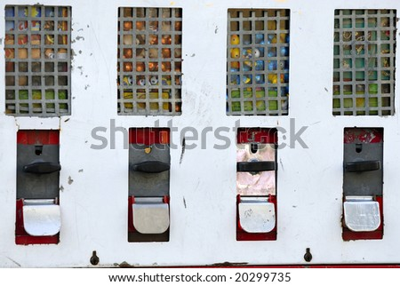 Old Bubble Gum Station - stock photo
