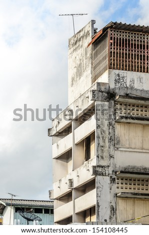 Old building in Thailand - stock photo