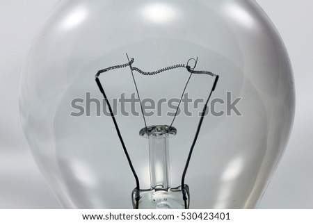 Old bulb close up