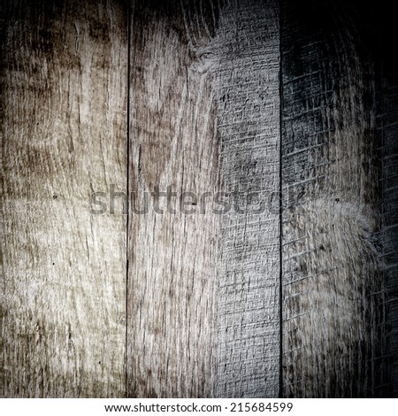Old Burned Wood Board detail - stock photo