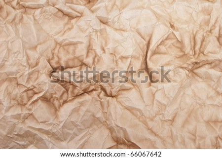 Old burnt paper - stock photo