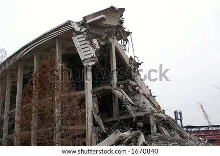 Old Busch Stadium - stock photo