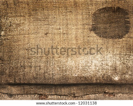 old canvas, textured effect - stock photo