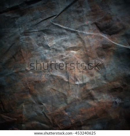 Old canvas with delicate grid to use as background or texture vintage - stock photo