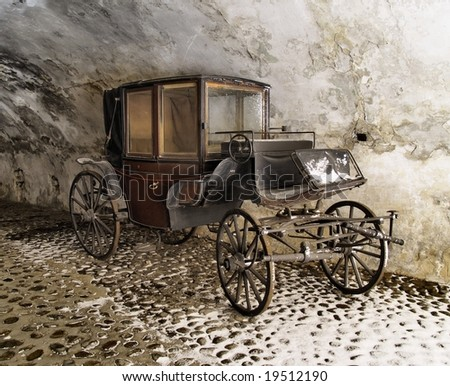 Old Carriage - stock photo