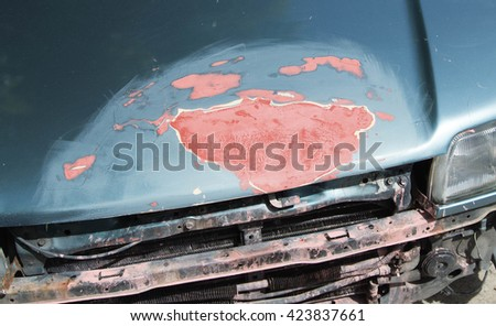 old cars - stock photo
