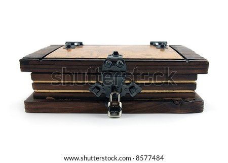 Old Casket - stock photo