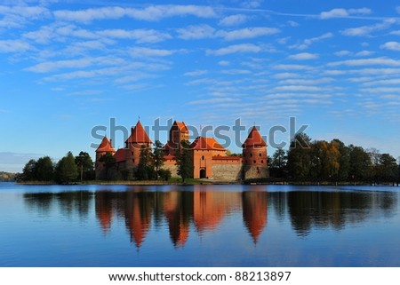 Old Castle in Lithuania