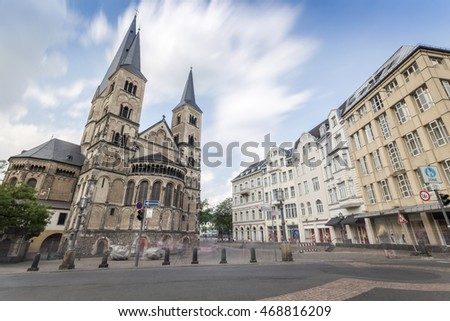 Old cathedral in Bonn, Germany
