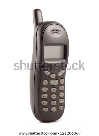 old cell phone - stock photo