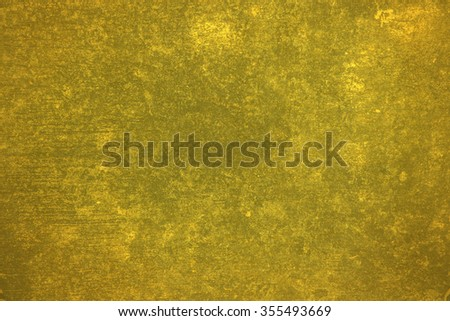 Old Cement Gold Texture