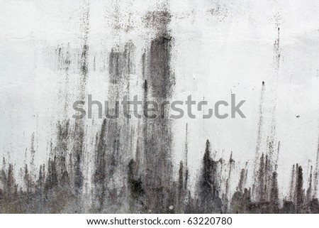 Old cement wall - stock photo