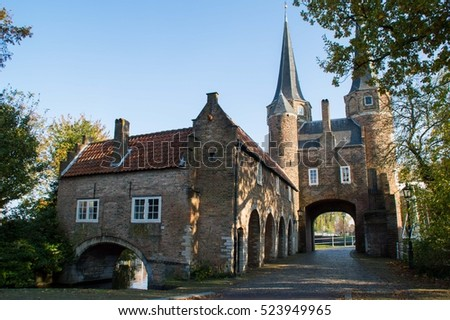 Old center of Delft, The Netherlands