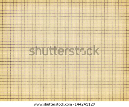 Old checkered paper background
