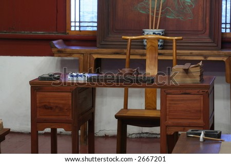 old chinese desk