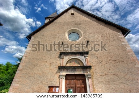 old church - stock photo