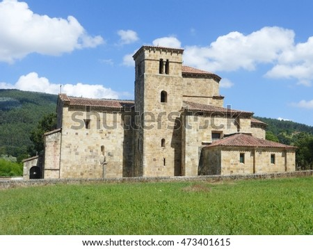 OLD CHURCH IN CANTABRIA