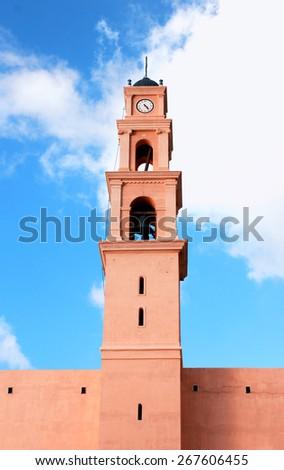 Old church in Jaffo (Tel-Aviv) - stock photo