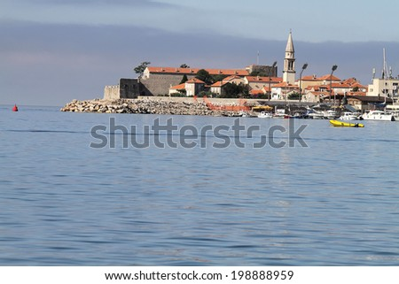 Old church in Montenegro  - stock photo