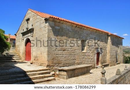 Old church of Sortelha, Portugal