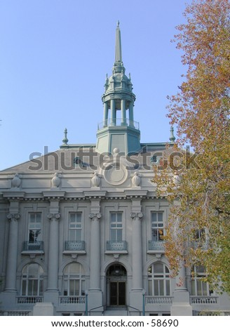 Old City Hall, Berkeley, California - stock photo