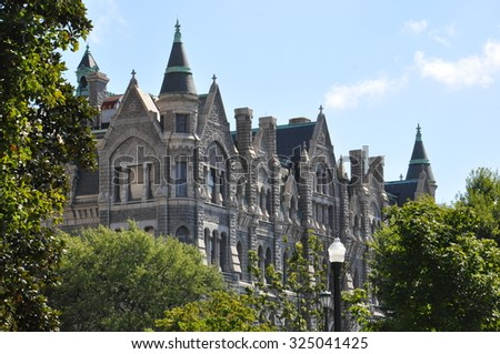 Old City Hall in Richmond, Virginia - stock photo
